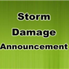 storm damage announcement